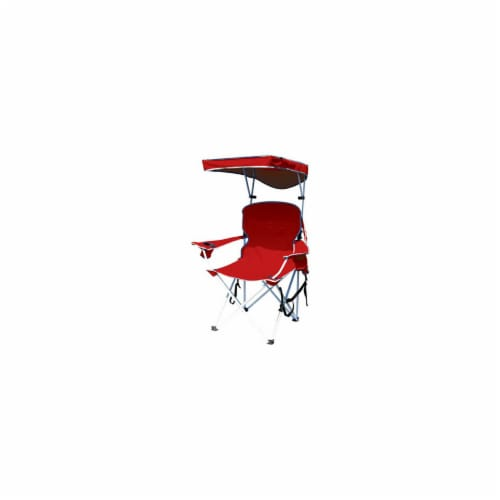 Bravo Sports 149578 Four Seasons Courtyard Red or Blue Shade Chair Perspective: front