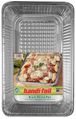 Handi-foil® Eco-Foil® Pasta Pan - Silver Perspective: front