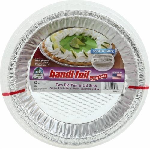 Handi-Foil Eco-Foil Pie Pan u0026 Lid Sets Perspective front  sc 1 st  Kroger & Kroger - Handi-Foil Eco-Foil Pie Pan u0026 Lid Sets