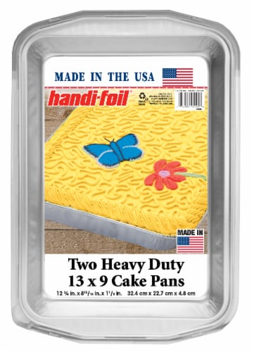 Handi-foil® Heavy Duty Cake Pans Perspective: front