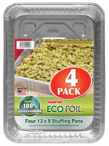 Handi-foil® Eco-Foil Stuffing Pans Perspective: front
