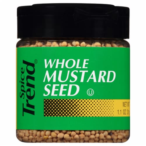 Spice Trend Whole Mustard Seed Shaker Perspective: front