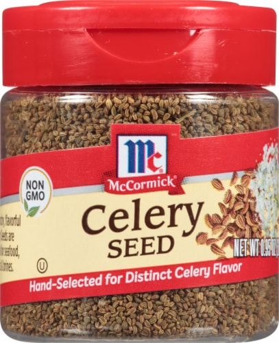 McCormick Celery Seed Shaker Perspective: front