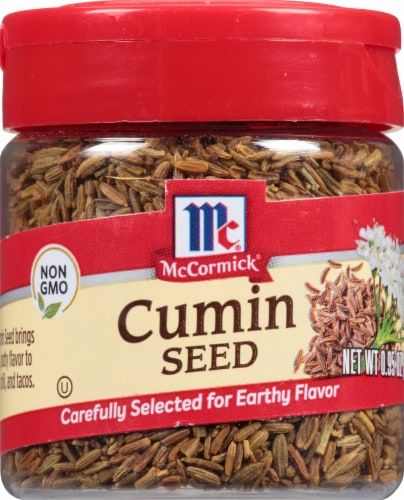 McCormick Cumin Seed Shaker Perspective: front