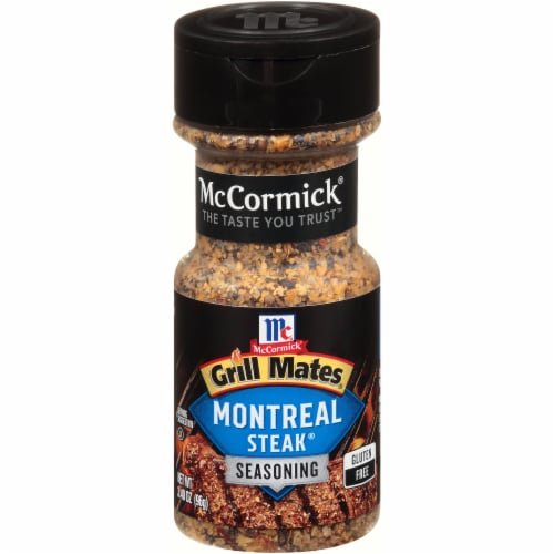 McCormick Grill Mates Montreal Steak Seasoning Perspective: front