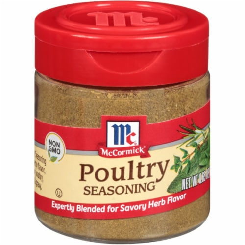 McCormick Poultry Seasoning Perspective: front