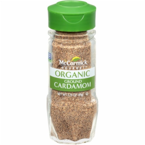 McCormick Gourmet Organic Ground Cardamom Perspective: front