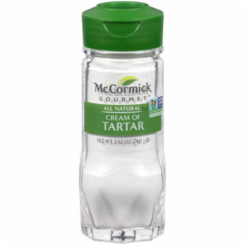 McCormick Gourmet All Natural Cream of Tartar Perspective: front