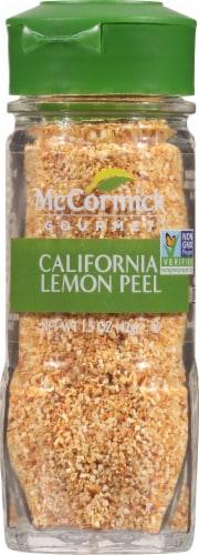 McCormick Gourmet California Lemon Peel Perspective: front