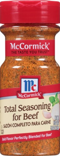 McCormick Total Seasoning for Beef Perspective: front
