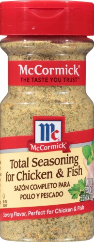 McCormick Total Seasoning for Chicken & Fish Perspective: front