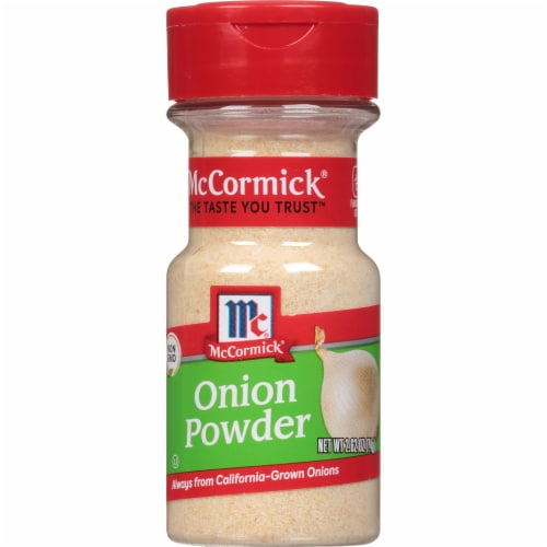 McCormick Onion Powder Shaker Perspective: front