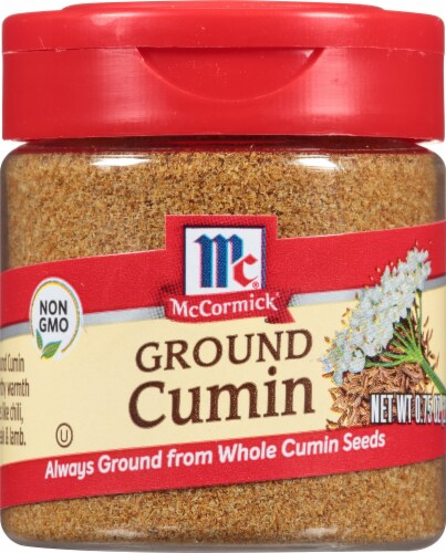 McCormick Ground Cumin Shaker Perspective: front