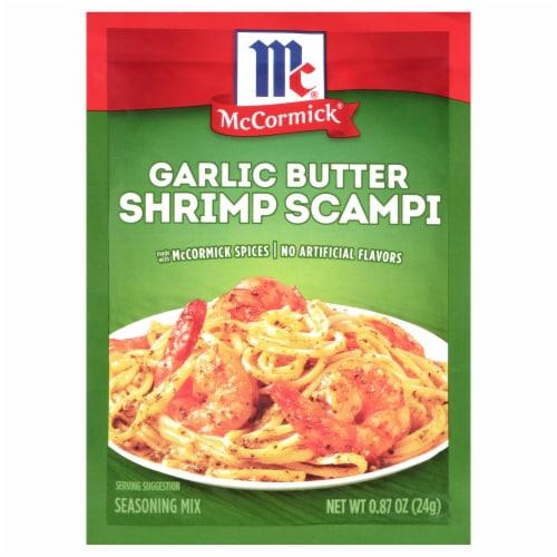 McCormick Garlic Butter Shrimp Scampi Mix Perspective: front