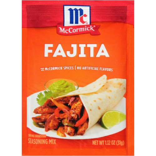 McCormick Fajita Seasoning Mix Perspective: front