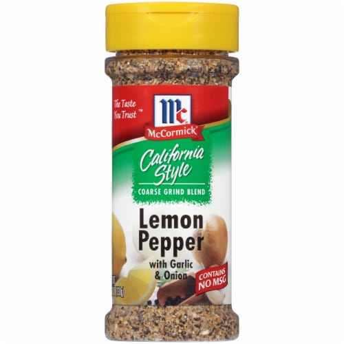 McCormick California Style Lemon & Pepper Perspective: front