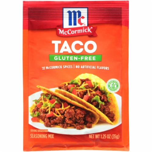 McCormick Gluten-Free Taco Seasoning Mix Perspective: front