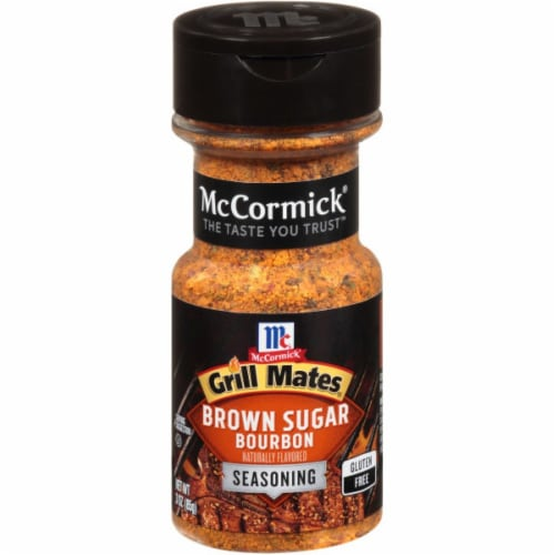McCormick Grill Mates Brown Sugar Bourbon Seasoning Perspective: front