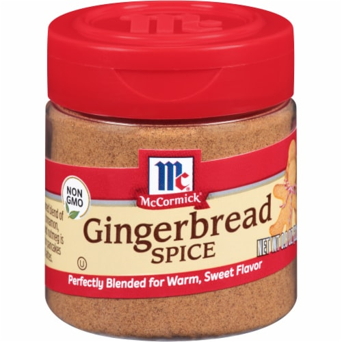 McCormick Gingerbread Spice Shaker Perspective: front