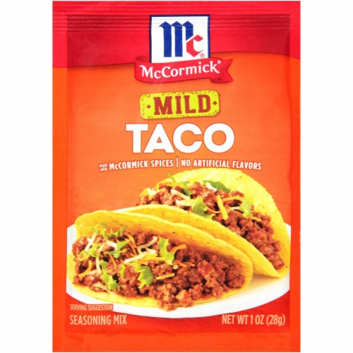 Mccormick Mild Taco Seasoning Mix 1 Oz Food 4 Less