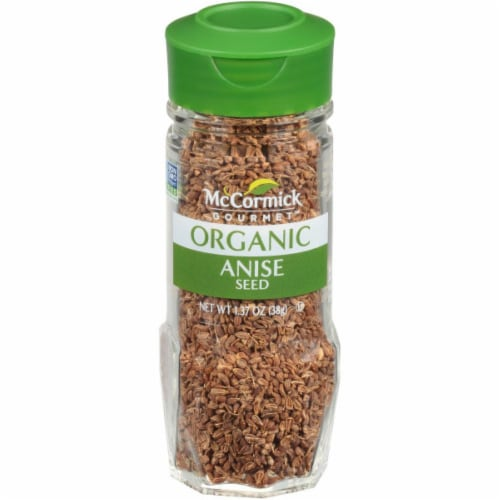 McCormick Gourmet Organic Anise Seed Perspective: front