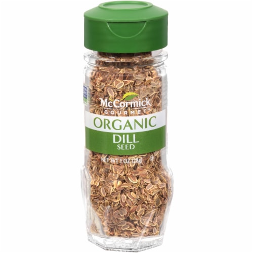 McCormick Gourmet Organic Dill Seed Perspective: front