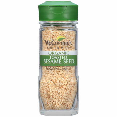McCormick Gourmet Organic Toasted Sesame Seed Shaker Perspective: front