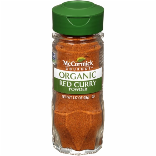 McCormick Gourmet Organic Red Curry Powder Perspective: front