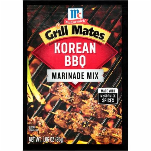 McCormick Grill Mates Korean BBQ Marinade Mix Perspective: front