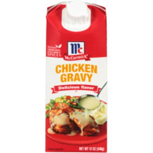 Mccormick Chicken Wet Gravy Perspective: front