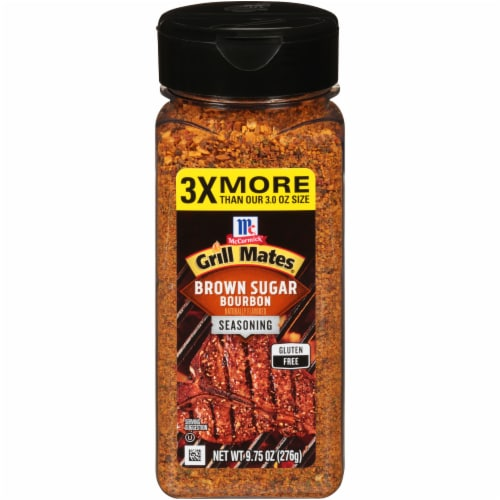 McCormick Grill Mates Brown Sugar Bourbon Seasoning Perspective: front