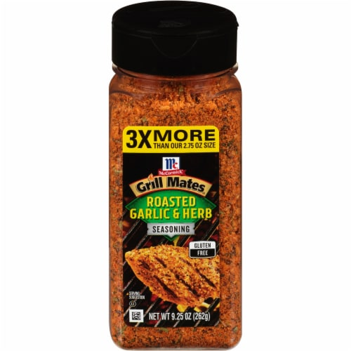 McCormick Grill Mates Roasted Garlic & Herb Seasoning Perspective: front