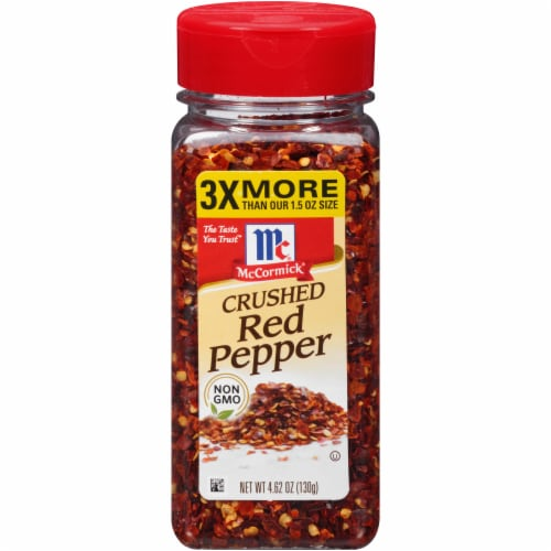 McCormick Crushed Red Pepper Perspective: front