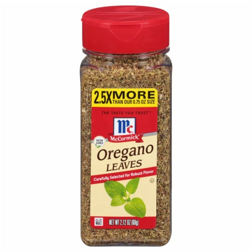 McCormick Oregano Leaves Shaker Perspective: front
