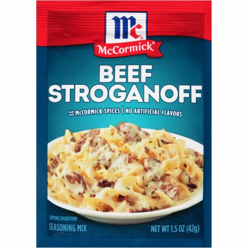 McCormick Beef Stroganoff Seasoning Mix Perspective: front