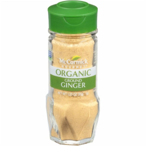 McCormick Gourmet Organic Ground Ginger Perspective: front