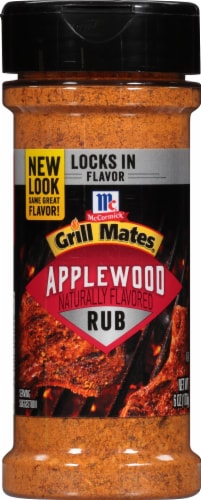 McCormick Grill Mates Applewood Dry Rub Perspective: front