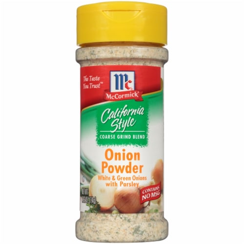 McCormick California Style Onion Powder Perspective: front