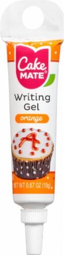 Cake Mate Orange Decorating Gel Perspective: front