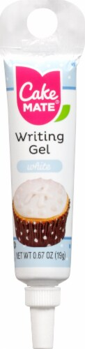 Cake Mate White Writing Gel Perspective: front