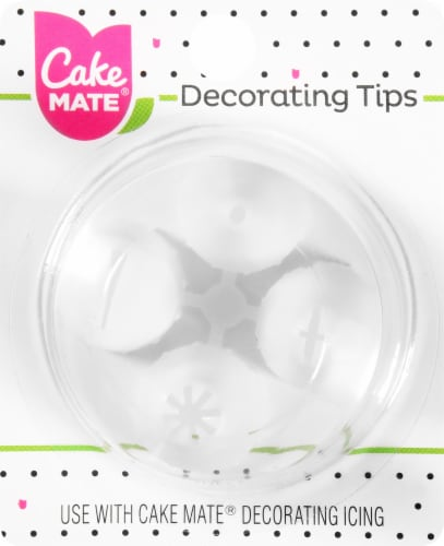 Cake Mate Decorating Tips Perspective: front