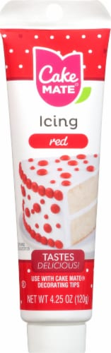 Cake Mate Red Icing Perspective: front