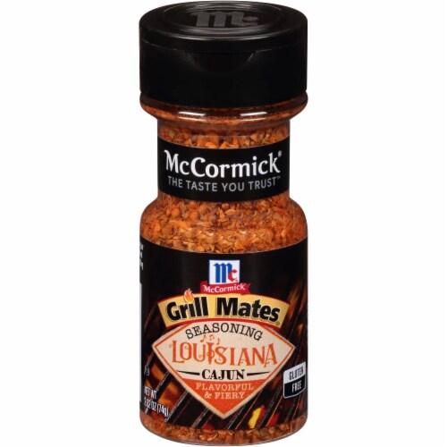McCormick Grill Mates Louisiana Cajun Seasoning Shaker Perspective: front