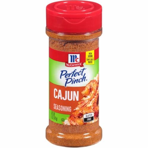 McCormick Perfect Pinch Cajun Seasoning Perspective: front