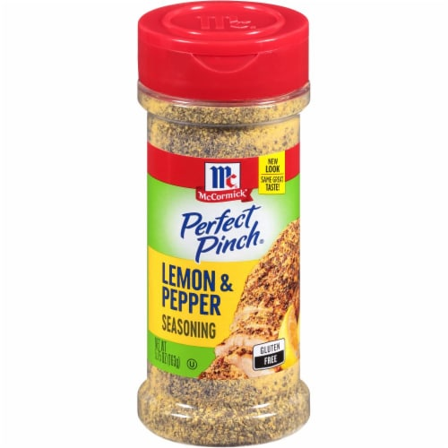 McCormick Perfect Pinch Lemon & Pepper Seasoning Perspective: front