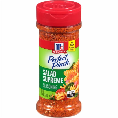 McCormick Perfect Pinch Salad Supreme Seasoning Perspective: front