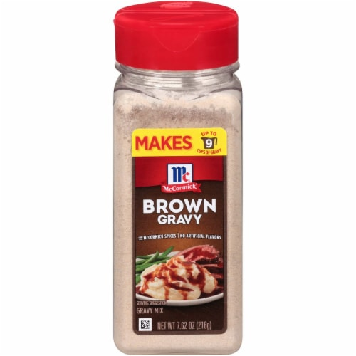 McCormick Brown Gravy Mix Perspective: front