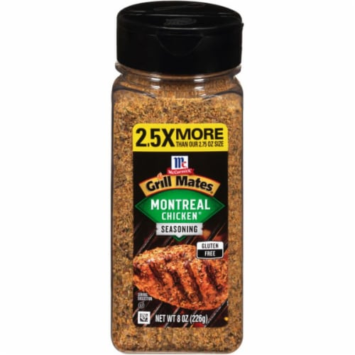 McCormick Grill Mates Montreal Chicken Seasoning Perspective: front
