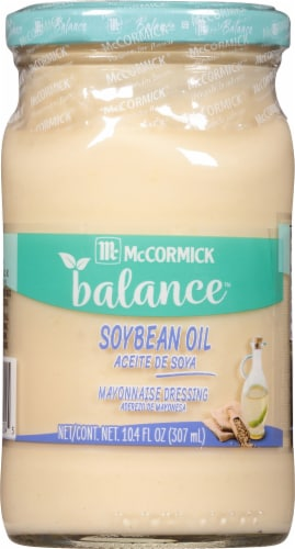 McCormick Balance Mayonnaise Dressing with Soybean Oil Perspective: front