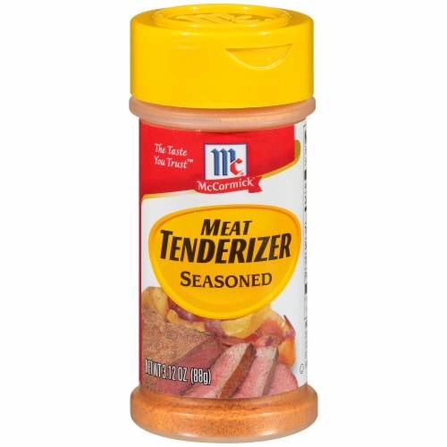 McCormick Seasoned Meat Tenderizer Perspective: front